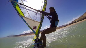 on windsurf